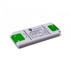 Zasilacz Meblowy LED 12V/1A Plastikowy FTPC 12W