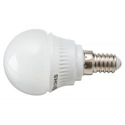 Żarówka E14 12 LED SMD 2835 Kulka Biała Zimna 3,5W