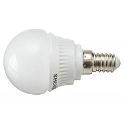 Żarówka E14 12 LED SMD 2835 Kulka Biała Ciepła 3,5W