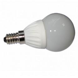 Żarówka E14 12 LED SMD 2835 Kulka Porcelana Biała Ciepła 3,5W