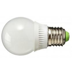 Żarówka E27 12 LED SMD 2835 Kulka Plastik Ciepła Biała 3,5W