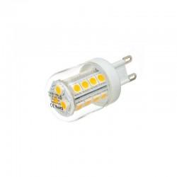 Żarówka G9 23 LED SMD 5050 3W Mini Biała Zimna