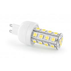 Żarówka G9 27 LED SMD 5050 3,3W Zimna Biała Mini