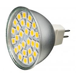 Żarówka MR16 27 LED SMD 5050 Ciepła Biała 4,2W