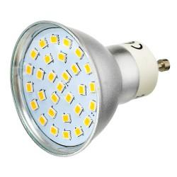 Żarówka GU10 30 LED SMD 2835 Zimna Biała 3,2W