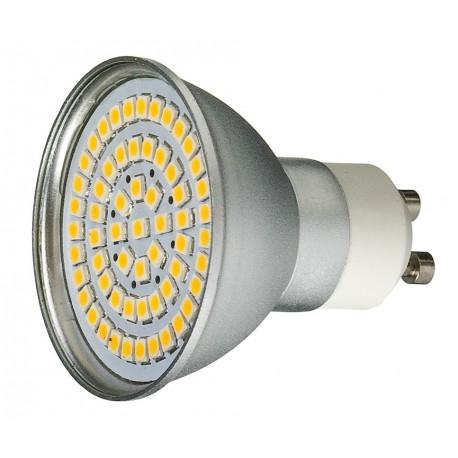 Żarówka GU10 60 LED SMD 3528 Ciepła 3W