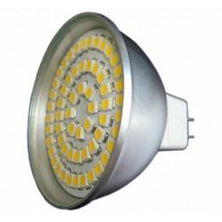 Żarówka MR16 60 LED SMD 3528 Ciepła Biała 3W