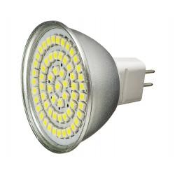 Żarówka MR16 60 LED SMD 3528 Zimna Biała 3W