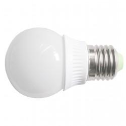 Żarówka E27 12 LED SMD 2835 Kulka Porcelana Ciepła Biała 4W