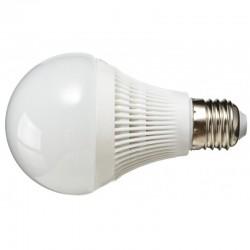 Żarówka E27 30 LED SMD 2835 Kulka Plastik Zimna Biała 10W