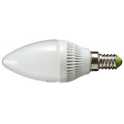 Żarówka E14 12 LED SMD 2835 Świeca Biała Ciepła 3,5W