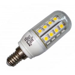Żarówka E14 27 LED SMD 5050 Corn Ciepła 4W