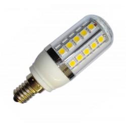 Żarówka E14 36 LED SMD 5050 Corn Ciepła Transparentna 5,5W