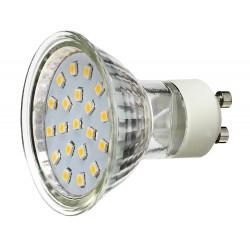 Żarówka GU10 20 LED SMD 3528 Czerwona 1,2W