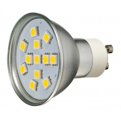 Żarówka GU10 12 LED SMD 5050 Biała Zimna 2W
