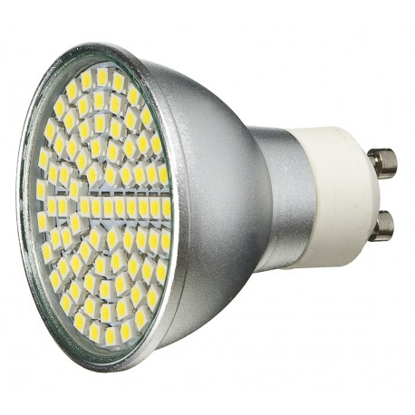 Żarówka GU10 80 LED SMD 3528 Ciepła 3,5W