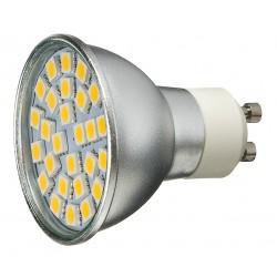 Żarówka GU10 27 LED SMD 5050 Biała Ciepła 4,2W